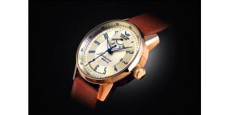 <Первые часы Vostok Europe с индикацией резерва хода.