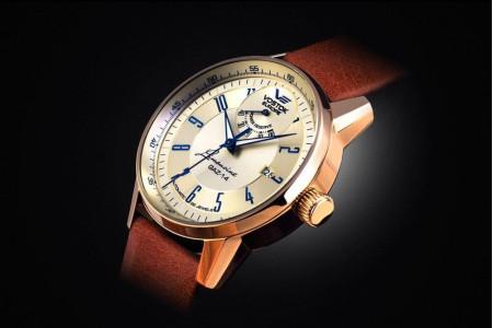 Первые часы Vostok Europe с индикацией резерва хода.