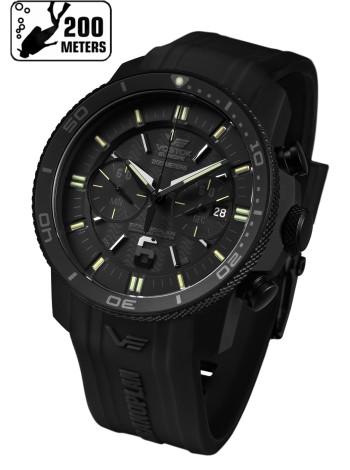 Часы VOSTOK-EUROPE EKRANOPLAN 6S21-546C510-S (Силиконовый ремень)