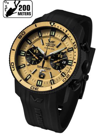 Часы VOSTOK-EUROPE EKRANOPLAN 6S21-546C512-S (Силиконовый ремень)