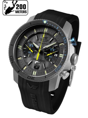 Часы VOSTOK-EUROPE EKRANOPLAN 6S21-546H514-S (Силиконовый ремень)