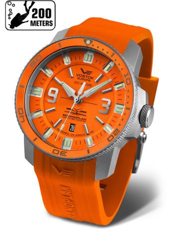 Часы VOSTOK-EUROPE EKRANOPLAN NH35-546A509-S (Силиконовый ремень)