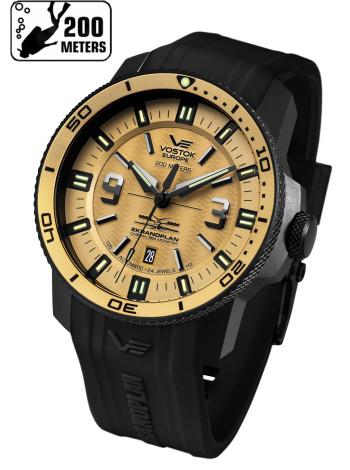 Часы VOSTOK-EUROPE EKRANOPLAN NH35-546C513-S (Силиконовый ремень)